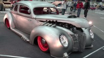 1940 Ford Hot Rod with an Illusional Paintjob That Will Blow Your Mind