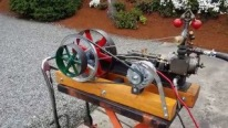 Talented Man Built His Own Steam Engine Boiler Alternator Off Grid and It's Totally Awesome