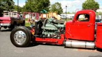 8V92 Detroit Diesel Powered Complete Custom Hot Rod Pickup Truck Rocks the Crowd!