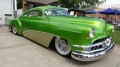 Snake Skin Green Chopped and Bagged 1951 Pontiac is the Definition of Beautiful!