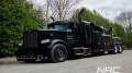 Perfectly Black Peterbilt Fitted on NRC 50CS Leaves the Factory Like a Boss