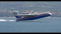 Beriev Be-200 Altair Amphibious Aircraft Swims in the Sea and Flies in the Sky!