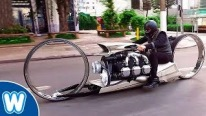 Impractical, Crazy, Unique: Hubless Motorcycle with 300HP Rolls Royce Continental V6 Airplane Engine
