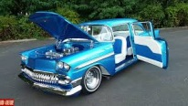 """Miss Taboo"": 1956 Chevy is the Perfect Example of Custom Cars"