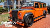 Reginald Family and Their Awesome 1985 Land Rover Defender Project is Worth of All Praises