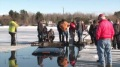 Mission Impossible: Rescuing a Huge Pickup Truck From Icy Lake