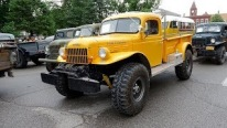 Awesome Dodge Power Wagon Trucks Parade Through the Street