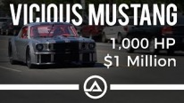"This is How It's Like to Have a Ride with Million Dollar 1000hp Ford Mustang ""Vicious"""