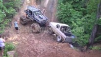Bronco Monster Truck Becomes the Hero of a Redneck Party!