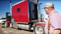 Life-Long Trucker Lives in a Sleeper Truck Designed as a Mansion!