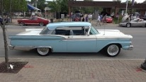 1959 Ford Fairlane 500 Club Victoria is the Shining Star of Lombard Car Show!