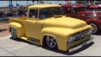 1956 Ford F-100 Truck is Just For the Big Bird of Sesame Street!