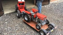 Homemade Miniature Tractors with Awesome Craftsmanship