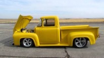 1956 Ford F-100 Pickup Truck is Built to Catch Eyes!