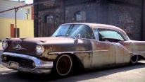 Rusty Beast: 1957 Oldsmobile Lead Sled Rat Rod
