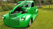 1941 Chevy Pickup Looks Like It's Built for the Green Lantern!