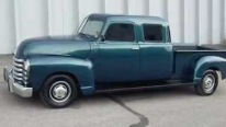 Rare 1950 Chevrolet Double Cap Pickup Truck is Truly Magnificent!