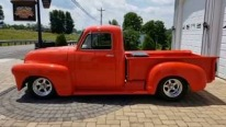 1951 Chevy Pickup in the Most Beautiful Red Ever!