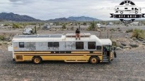 School Bus Transformed into a Extraordinary Mobile Home in 1.5 Years