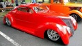 1937 Ford 5-Window Coupe Replica Strikes the Eyes with Its Red Hot Beauty!