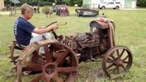 Primitiveness over Development: 1919 Fordson Tractor Still Works After a Century!