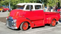 Exquisite GMC Cab Over Truck Caught on Camera at Big Bear Fun Run!