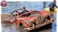 1960 Jaguar Mark II Rescued From Underwater Like a Hero!