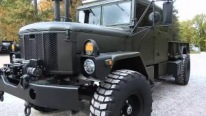 C&C Equipped Custom Built Bobbed M353A Deuce Crew Cab