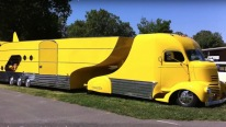 1941 GMC COE V8 Race Car Hauler