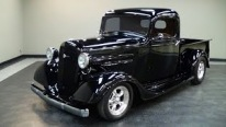 Chevy 350 Small Block V8 Powered 1936 Chevrolet Street Rod Pickup Truck