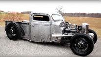 Bare Metal/ Bare Bones 1935 Chevy Pickup Trucks