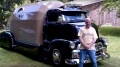 Russ Moen's 1954 Chevy Cabover with Natural Lines