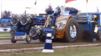 Whispering Giant: A Tractor With 4 Jet Engines
