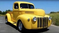 1946 Ford Half Ton F-Series Pickup Truck from Texas in the Best Shade of Yellow