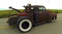 Chevy Home Wrecker Ratrod Truck