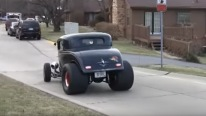 Big Blown Chevy Powered 1932 Ford Coupe