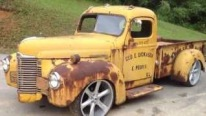 1947 International Rat Rod Truck