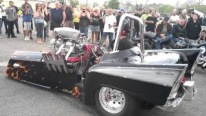A Three-wheel Drive Chevy with 3000hp Nitro Hemi