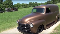 Nicely Customized 1947 Chevrolet Panel Truck