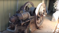 106 Years Old Kerosene Blackstone Oil Engine Start-Up