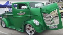 Art Deco Custom COE Cabover Truck by Big Shed Customs of New Zealand