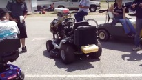 Lawn Mower Powered by Chevrolet 350 Small Block Engine