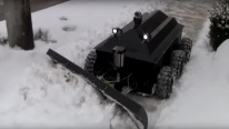 "The Snowplow Robot ""RoboPlow"""