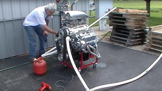Chevy Small Block 383 Stroker Engine