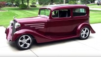 1934 Model Chevrolet Tudor Sedan Streetrod