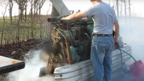 6-71 Detroit Diesel Engine Start up