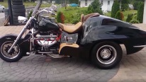 Boss Hoss Corvette Motorcycle