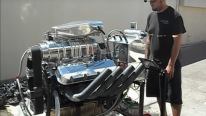 1500+Hp Big Block Chevy Blown Alcohol Engine